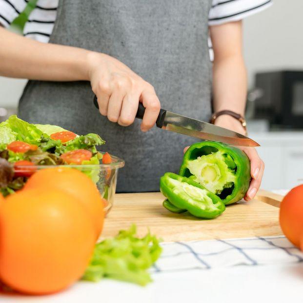 Juliana, brunoise, rondelle... así se cortan los alimentos para cocinar Foto: bigstock