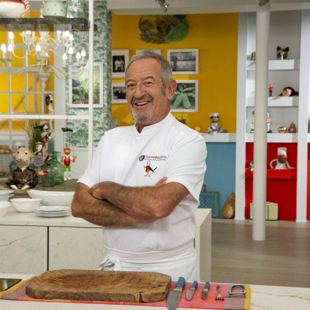 Karlos Arguiñano galardonado con el Premio Nacional de Televisión