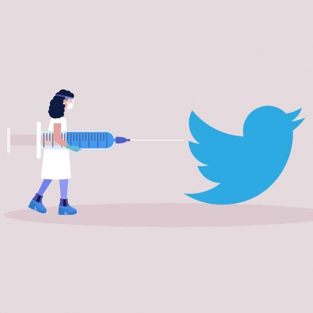 Twitter se inmuniza contra las 'fake news' de la vacuna del coronavirus