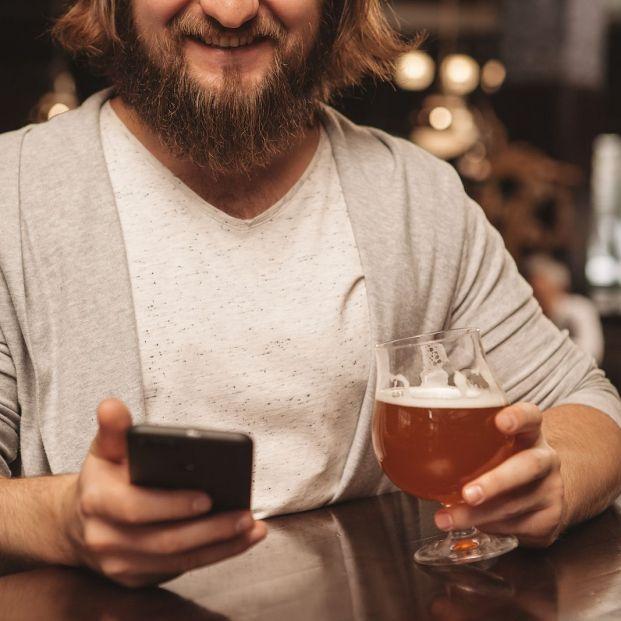 'Modo borracho': la forma de evitar usar el móvil cuando el alcohol hace efecto Foto: bigstock