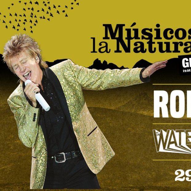 Rod Stewart Festival Músicos en la Naturaleza