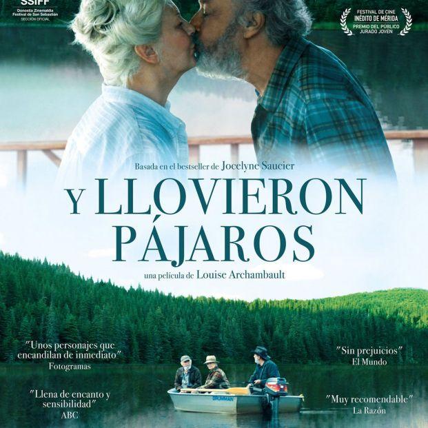 'Y llovieron pájaros', la historia de tres mayores que deciden irse a vivir al bosque, en los cines