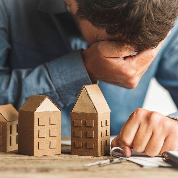 Las ejecuciones hipotecarias sobre vivienda habitual se disparan, pero caen los desahucios