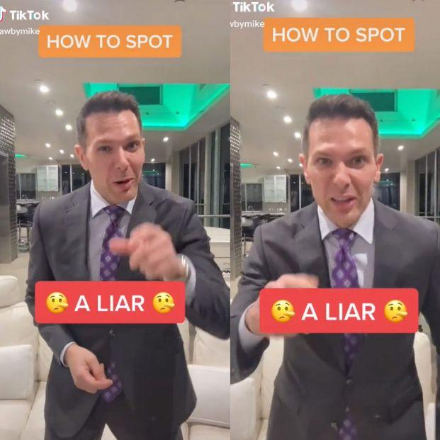 """Un abogado enseña cómo saber si alguien miente: """"Deja de caer en las mentiras de la gente"""""""