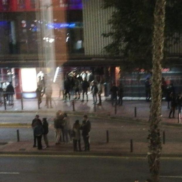 Los vecinos del ZigZag de Murcia, hartos de las continuas peleas tras el toque de queda