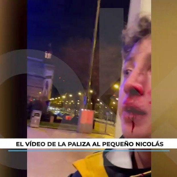 """Sale a la luz el vídeo de la paliza al 'Pequeño Nicolás': """"¡Ven aquí que te inflo, subnormal!"""""""