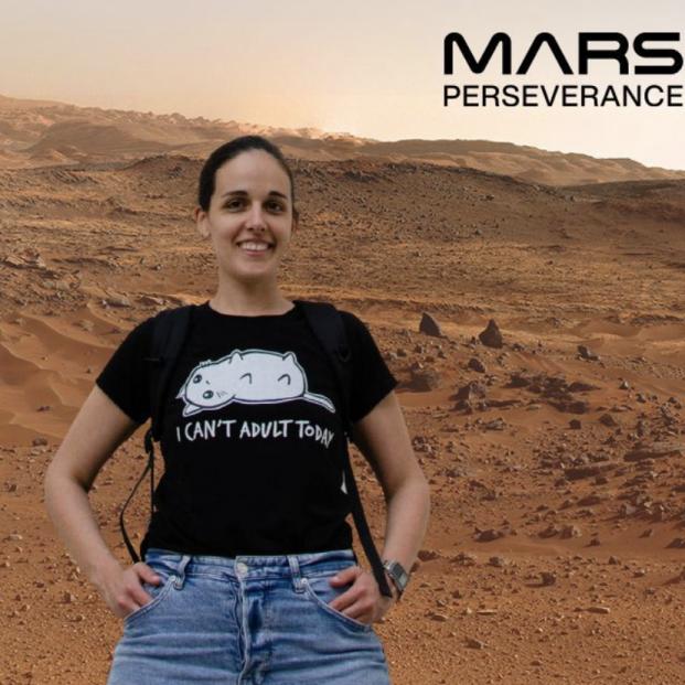 La NASA nos invita a hacernos un selfie en Marte. Foto: NASA