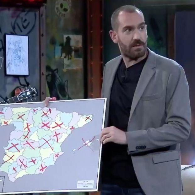 """'La Resistencia' se mofa de Valencia: """"Tiene la peor fiesta popular de España, las Fallas"""""""