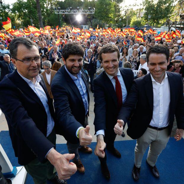 El PP llega a un acuerdo con diputados de Ciudadanos en Murcia para que la moción fracase