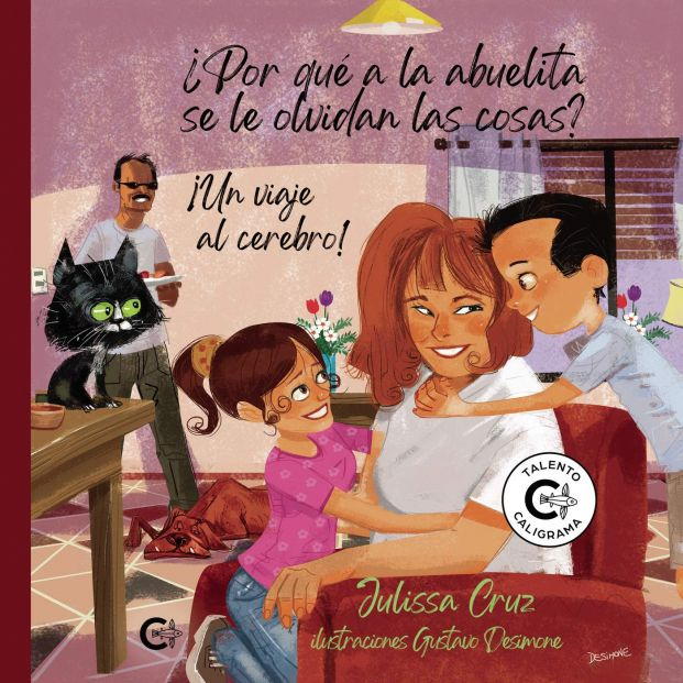 El libro que ayuda a entender el Alzhéimer de los abuelos a los más pequeños de la casa