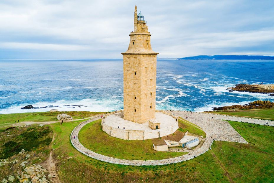 bigstock Tower Of Hercules Or Torre De  235366348