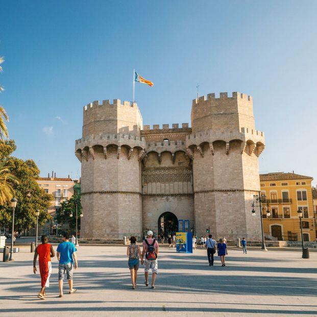 ¿Conoces el Barrio del Carmen en Valencia? (Big stock)