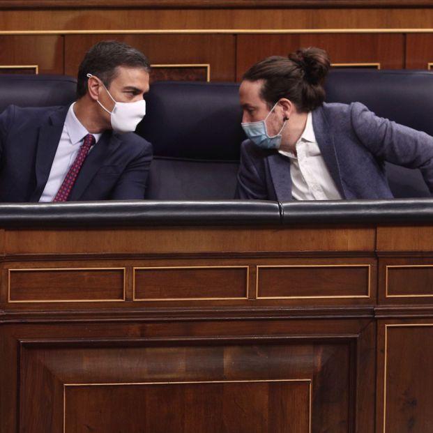 """Sánchez, sobre la salida de Iglesias: """"Le he deseado suerte y en los próximos días decidiré cambios"""""""