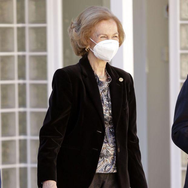 La Reina Sofía, vacunada contra el coronavirus