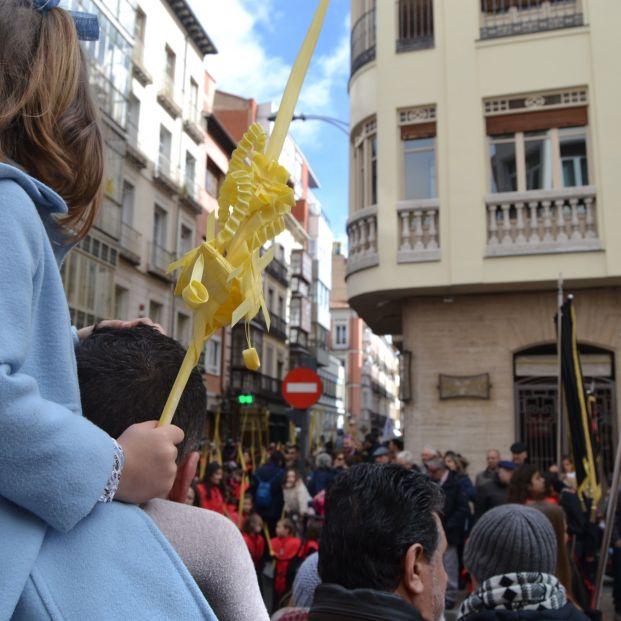 Palmas de Domingo de Ramos en los balcones: ¿qué significan?