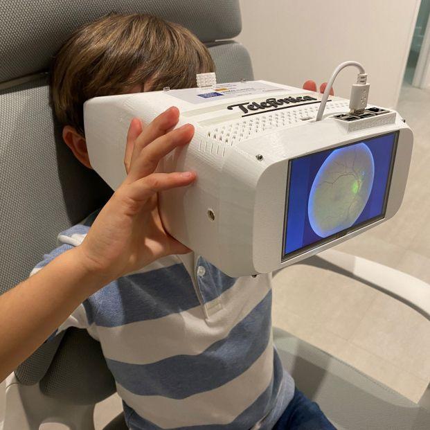Telefónica revoluciona el diagnóstico oftalmológico con un nuevo dispositivo con 5G