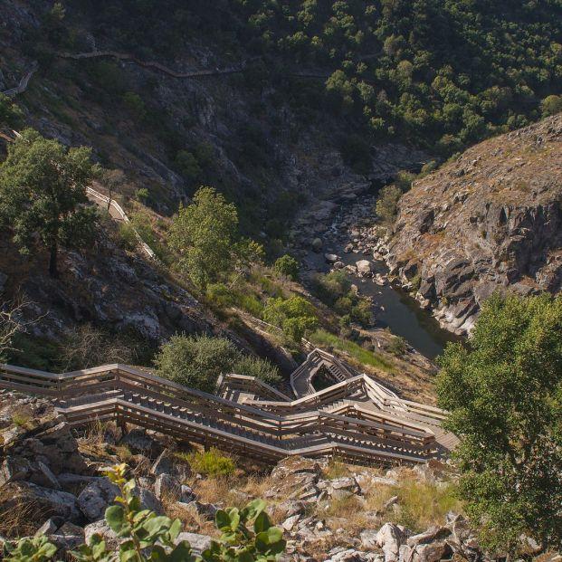 Pasarelas de Paiva, uno de los rincones más bonitos de Portugal Foto: bigstock