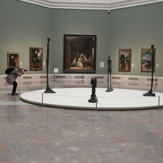 Exposición de Giacometti en el Prado