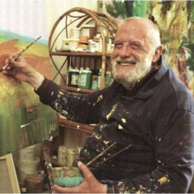 Ataulfo Casado, el pintor ciego de 73 años (Foto: ataulfocasado.com)