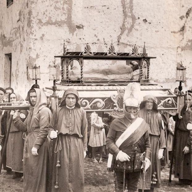 Una exposición virtual con 62 fotografías históricas recorre la Semana Santa en Castilla-La Mancha