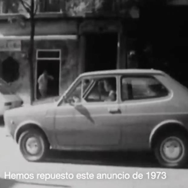 La DGT rescata un anuncio de hace 50 años. Foto: DGT