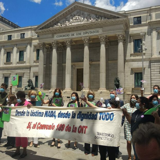 Belarra y Montero urgen a incorporar a las empleadas de hogar al régimen general de Seguridad Social