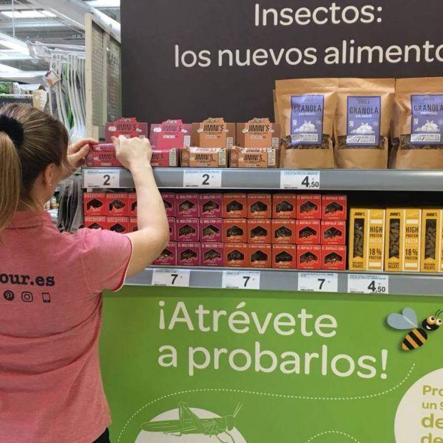 Son de Carrefour y muy nutritivos: alimentos a base de insectos