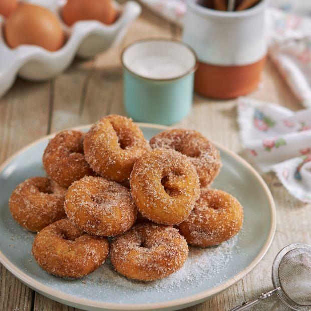 Las rosquillas de Semana Santa más tiernas Foto: bigstock