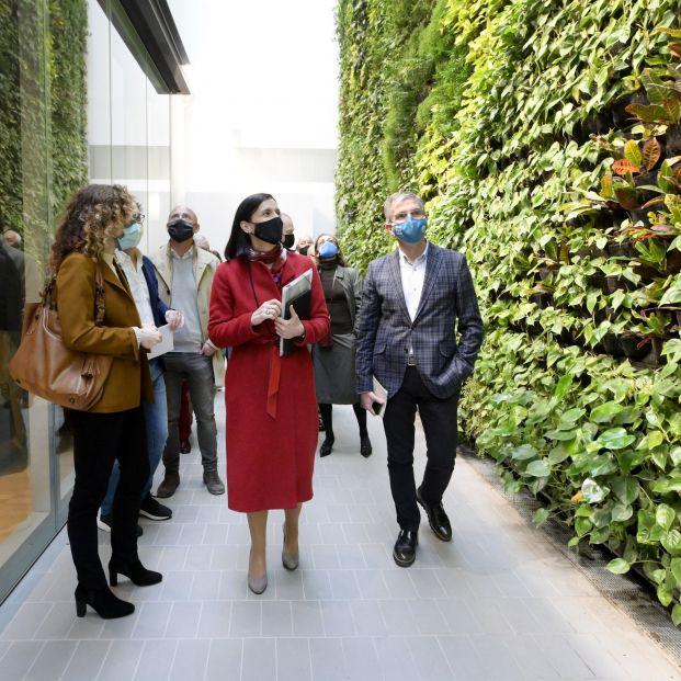 Santander estrena el jardín vertical interior más grande de Europa Foto:EuropaPress