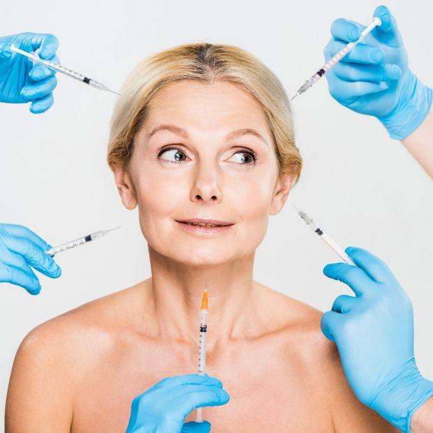 Mesoterapia estética microinyecciones para mejor el aspecto de la piel (Bigstock)