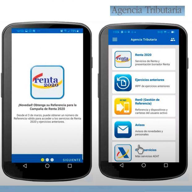 Presenta la declaración de la Renta 2020-2021 desde tu teléfono móvil