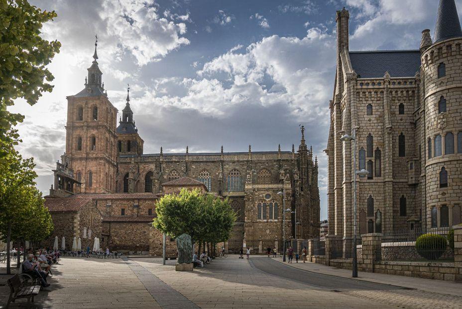 bigstock Astorga Spain July    Sa 411531358