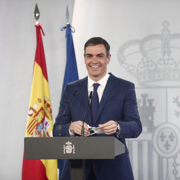Pedro Sánchez promete que el 70% de los españoles estarán vacunados al final de agosto