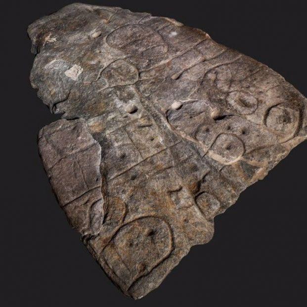 Una piedra de hace 3.500 años, el mapa más antiguo de Europa