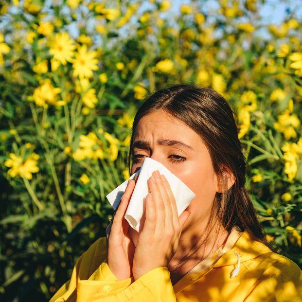 Alergia: Aplicaciones móviles. Foto: bigstock