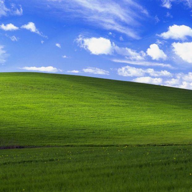 Así está 25 años después la colina del mítico fondo de pantalla de Windows XP