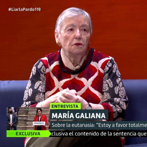 """María Galiana: """"La sensación de que me queda muy poco me da una pena horrorosa"""""""