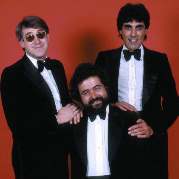 La Trinca reedita sus discos publicados entre 1969 y 1977. Foto del trío musical en 'Cómo nos reímos'