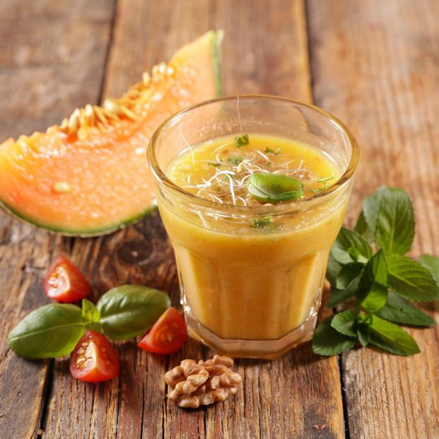 ¿Has probado el gazpacho de melón? Aquí te contamos cómo prepararlo. Foto: bigstock