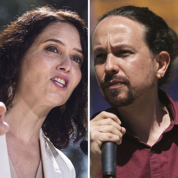 Debate electoral: Ayuso e Iglesias, frente a frente con las residencias como posible arma arrojadiza