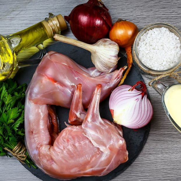 Carne de conejo (bigstock)