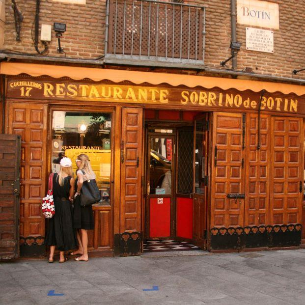 Restaurantes y tabernas centenarios para disfrutar de lo más auténtico de Madrid. Casa Botín Foto Wikipedia