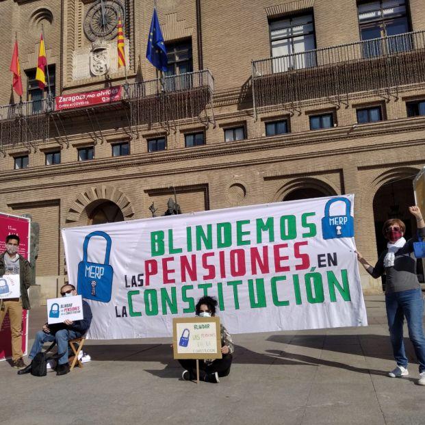 """Mensaje de los pensionistas a Escrivá: """"No vamos a permitir la privatización del sistema"""""""