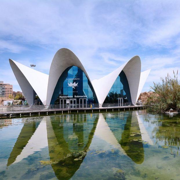 Ciudad de las Artes y las Ciencias Valencia (Bigstock)