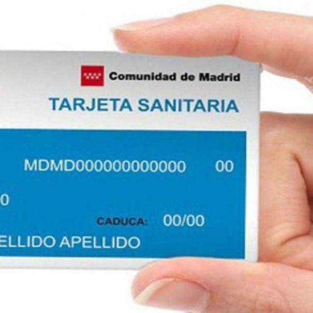 Tarjeta sanitaria (Comunidad de Madrid)