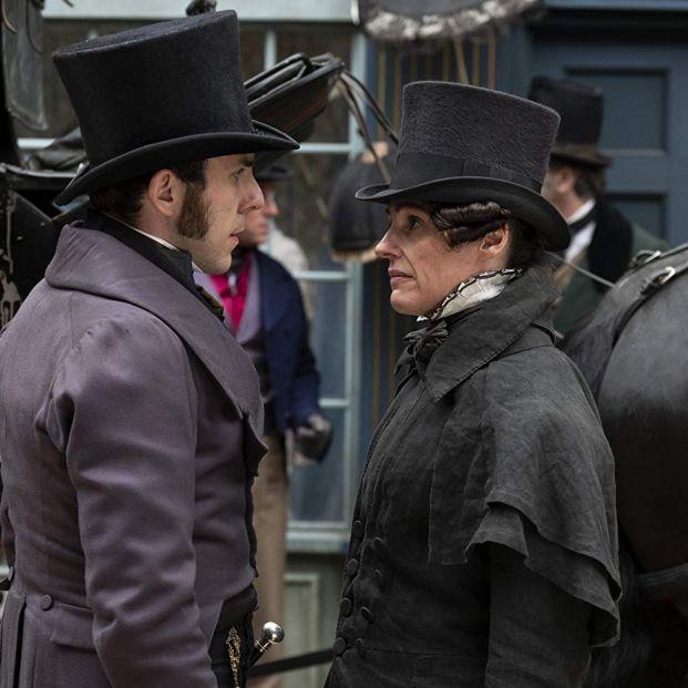 Suranne Jones en Gentleman Jack (HBO:BBC)