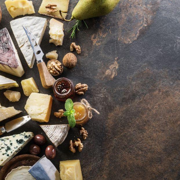 Distintos tipos de quesos (bigstock)