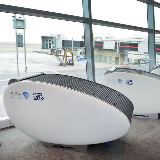 ¿Sabías que hay aeropuertos en los que puedes quedarte a dormir? (Aeropuerto Abu Dabi)