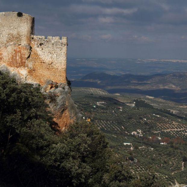 Mirador castillo de Albánchez Sierra Mágina (www.juntadeandalucía)