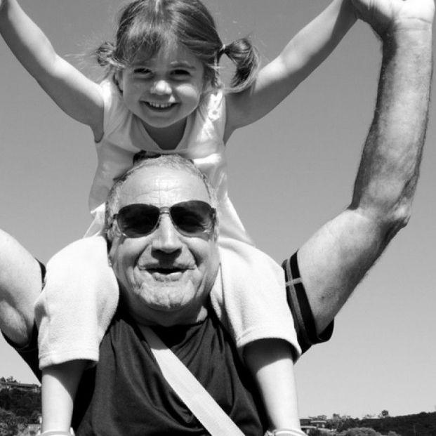 Abuelos y nietos de vacaciones